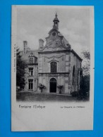 Cpa FONTAINE L EVEQUE La Chapelle Du Chateau Nels Bruxelles , Serie 3 N°4 - Fontaine-l'Evêque