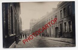 ANZIN-Rue De La Liberte-Carte Photo Allemande-Guerre14-18-1WK-Militaria-Frankreich-France-59- - Anzin