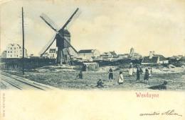.. WENDUYNE. Wenduine. MOLEN Moulin  Postée 1909. Bon état - Wenduine