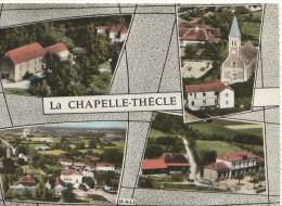 LA CHAPELLE THECLE (71) - Saône Et Loire - Carte Multivues - Eglise - Ecole... - France
