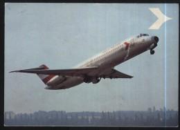Austrian Airline-Douglas DC 9/32-unused,perfect Shape - 1946-....: Moderne