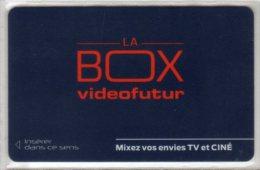 """VIDEO FUTUR - Les 3 derni�res cartes d'ABONNEMENT parues -  """" LUXE """""""