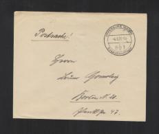 Dt. Reich Hitlerjugend Südwestmarklager Offenburg Baden Brief 1937 - Duitsland