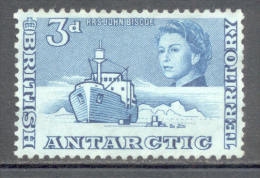 British Antarctic Territory - BAT - 1963 - Michel Nr. 6 (*) - Britisches Antarktis-Territorium  (BAT)