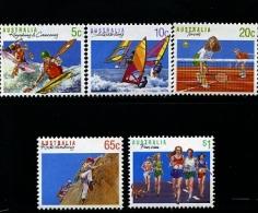 AUSTRALIA - 1990  SPORT SERIES  II  SET MINT NH - 1990-99 Elizabeth II