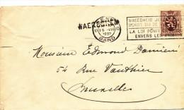 047/23 - 3 Griffes Différentes De WAEREGHEM Sur 3 Documents GENT Ou KORTRIJK 1937/39 - Poststempel