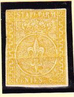 Parma 1853 Mi.#6 * Mit Falz 5 Cent - Parma