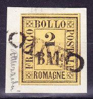 """Romagna 1859  2 Baj.Mi.#3 Gestempelt """"Cento"""" - Romagne"""