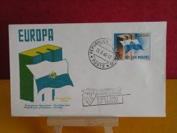 FDC - San Marino, Europa CEPT -  - 21.9.1963 - 1er Jour, - FDC