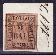 Romagna 1859  5 Baj.Mi.#6 Gestempelt Signiert Diena - Romagne
