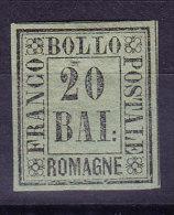 Romagna 1859  20 Baj.Mi.#9* Mit Falz Signiert Sorani + Richter - Romagne