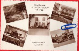CPA  BATZ-sur-MER (Loire Inférieure)  Hôtel-pension LE CALME LOGIS **    +++++++++++++++ - Batz-sur-Mer (Bourg De B.)