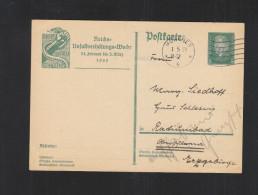 Dt. Reich GSK 1929 Reichs-Unfallverhüttungs-Woche - Deutschland