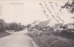 91 LA RONCIERE  Hameau De FONTENAY Les BRIIS Coin Du VILLAGE  Route Et Maisons Timbrée 1904 - France