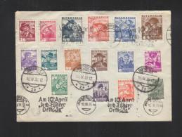 Österreich Umschlag 1938 Sonderstempel 10 April - 1918-1945 1. Republik