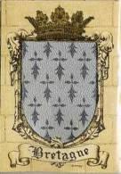 (4150)  Blason De Bretagne (argenté) - France