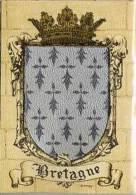 (4150)  Blason De Bretagne (argenté) - Frankrijk