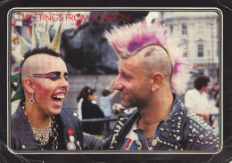 Ph-CPM Angleterre Greetings From London (London) Punks, 12,00 X 17,00 Cm - London