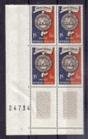 BLOC DE QUATRE  N* 906 ( Numéroté 24734) NEUF** - Unused Stamps