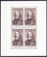 ** Tchécoslovaquie Mi Klb. 1011 (Yv 899) Le Feuille, (MNH) Type V - Blocks & Sheetlets