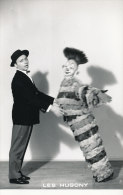 CIRQUE 22 /  PHOTO - CLOWNS  LES HUGONY .(FORMAT 18,00 Cm X 11,50cm) - Photographs