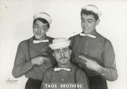 CIRQUE 26 /  PHOTO - CLOWNS  TAGS BROTHERS.(FORMAT 18,00 Cm X 13,00cm) - Photos
