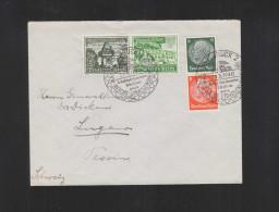 Dt. Reich R-Brief 1940 Innsbruck Nach Lugano - 1918-1945 1. Republik