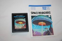 Jeu Atari Space Invaders ( Cartouche + Livret ) - Atari