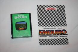 Jeu Atari Enduro ( Cartouche + Livret ) - Atari