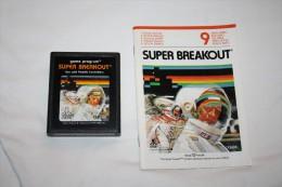Jeu Atari Super Breakout ( Cartouche + Livret ) - Atari