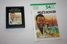 Jeu Atari Pele´s Soccer ( Cartouche + Livret ) - Atari