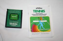 Jeu Atari Tennis ( Cartouche + Livret ) - Atari