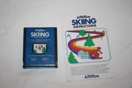 Jeu Atari Skiing( Cartouche + Livret ) - Atari