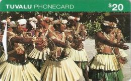 *TUVALU - ITID* -  Scheda Usata (FIRST ISSUE) - Tuvalu