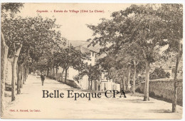 13 - CEYRESTE - Entrée Du Village - Côté La Ciotat ++++ Photo A. Gavard, La Ciotat ++++ Vers La Ciotat, 1910 ++++ RARE - Altri Comuni