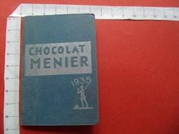 1935 calendrier chocolat menier