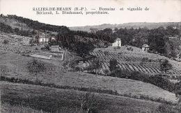 (64) Salies De Béarn - Domaine Et Vignoble De Bérierau, L. Dimbonnet, Propriétaite - Excellent état - 2 SCANS - Salies De Bearn