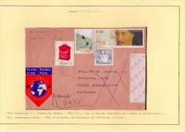 02022 Carta De Porto A Barcelona 1990 - 1910-... República