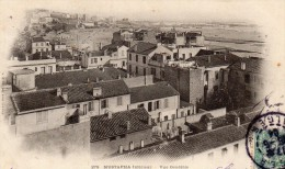 cpa 1904, MUSTAPHA inf�rieur, vue g�n�rale, au loin : le port  (44.85)