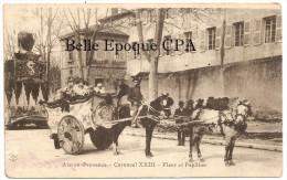 13 - AIX-en-PROVENCE - Carnaval XXIII - Fleur Et Papillon / Chocolat LOUIT ++++ F. G. ++++ 1915 ++++ RARE - Aix En Provence