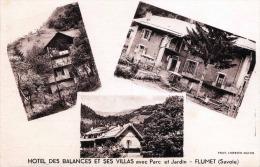FLUMET (Savoie) - Hotel Des Balances Et Ses Villas Avec Parc Et Jardin - Frankreich