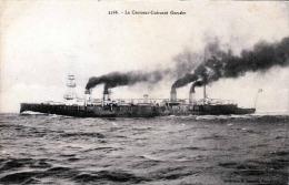 Le Croiseur-Cuirasse Gueydon Karte Um 1915 - Krieg