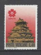 VATIKAN Mi-Nr. 557 Weltausstellung EXPO '70, Osaka Postfrisch - Vatican