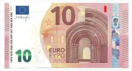 EURO NETHERLANDS 10 PA  DRAGHI P001 UNC - EURO