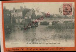CPA  61  ALENCON-COURTEILLES   Le Nouveau Pont  Personnages En Barques  NOV 2014 DIV  768 - Alencon