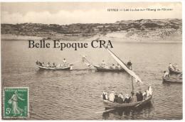 13 - ISTRES - Les Joutes Sur L'Étang De L'Olivier +++++++ Vers La Baule, 1911 ++++ RARE - Istres