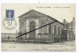 CPA- Saint St Valéry Sur Somme - Le Tribunal De Commerce - Saint Valery Sur Somme