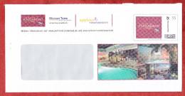 Plusbrief-Individuell, Parkhotel Jordanbad Biberach, 55 C, Gelaufen (68554) - Enveloppes Privées - Oblitérées
