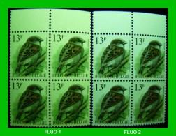 BUZIN - 2533** Moineau Domestique / Huismus - NUANCE FLUO !!! - 1985-.. Oiseaux (Buzin)