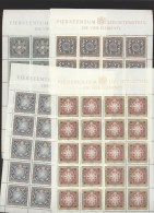 Liechtenstein  **  1099-1102 Vier Elemente Ungefaltet Katalog 150,00 - Liechtenstein